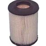 2101 - Round air filter with black cap