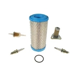Ezgo Tune Up Kit for Gas 4 cycle engine 1996-up ST350, kit consists of Air Filter, Oil Filter, Fuel Filter, (2) Spark plugs and (1) O-Ring