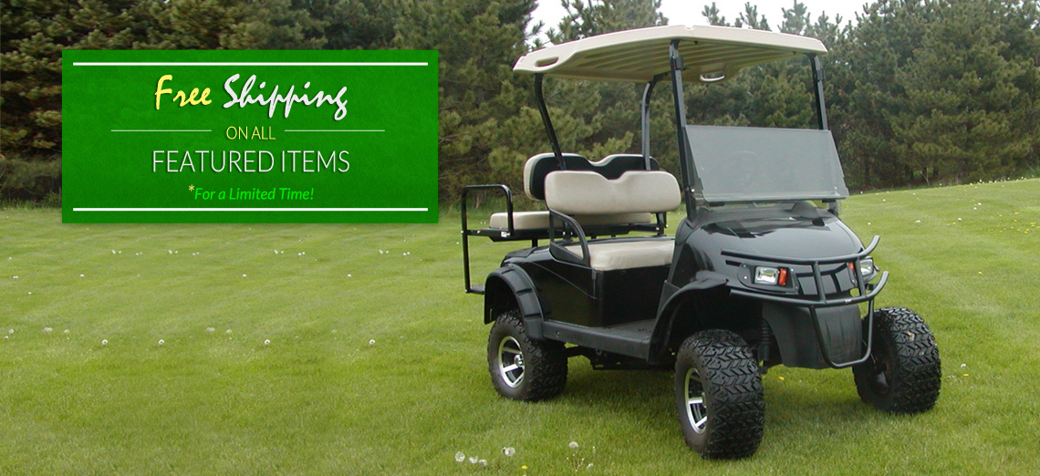 Custom Golf Cart Parts And Accessories from J & B Motor Sales on harley trailer, walker golf cart value, yamaha golf cart value,